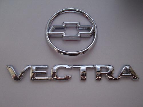 kit de emblemas vectra + gravata mala 96/..- bre