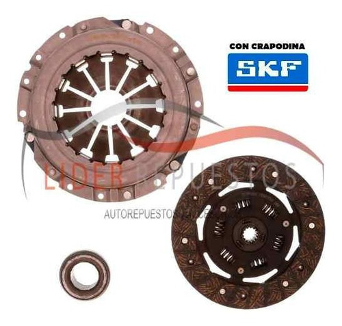 kit de embrague chevrolet corsa ii / combo 1.7d 07.95/