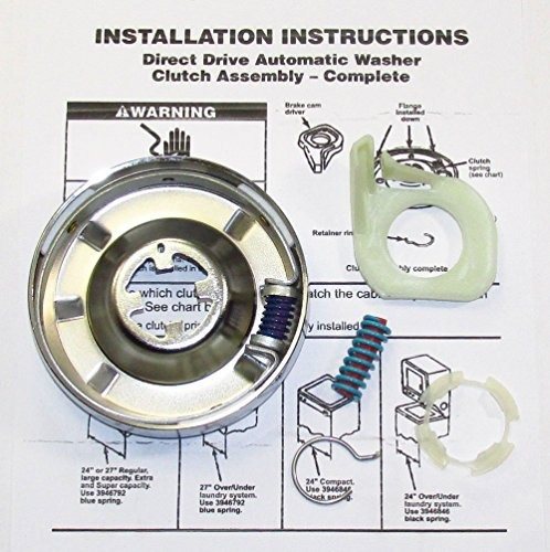 kit de embrague de lavadora para whirlpool kenmore sears r