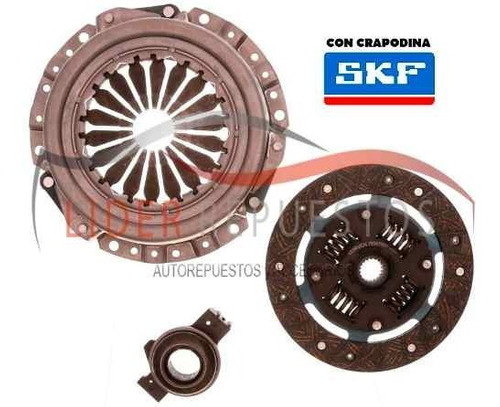 kit de embrague fiat regatta 1.5 8v - 1.6 91/95