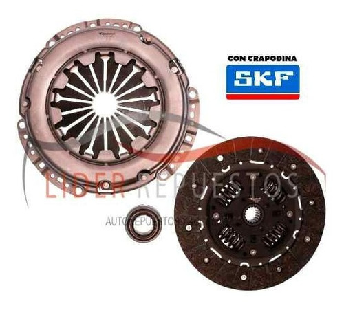 kit de embrague ford fiesta / courier 1.6 8v rocam