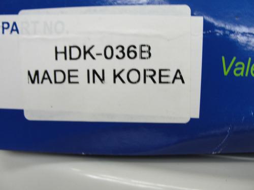 kit de embrague hyundai accent, motor 1.5