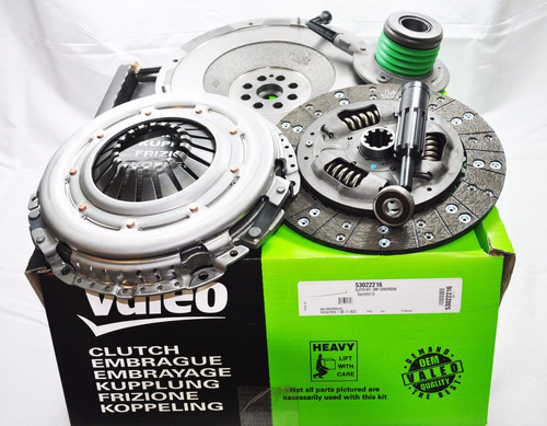 kit de embrague valeo peugeot 207 1.6 16v 11+ disc+pren+roda