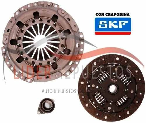 kit de embrague volkswagen fox - crossfox 1.9sdi 08/