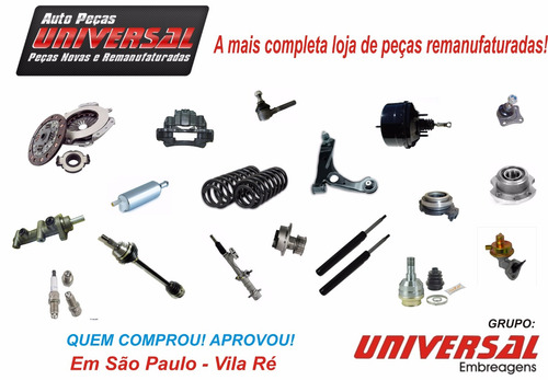 kit de embreagem fiesta 1.0 1.6 supercharger 02/ remanu