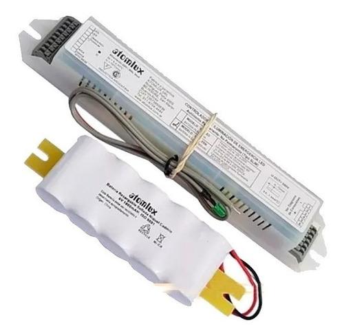 kit de emergencia atomlux sistema universal 1601n-led
