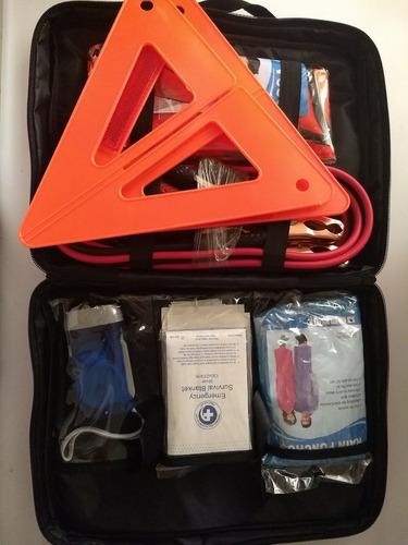 kit de emergencia automotriz 18 piezas