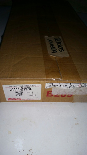 kit de empacaduras 100% original daihatsu terios 08 al 14
