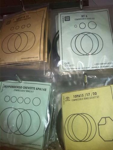 kit de empacaduras-oring para compresores v5/fx15/ht6