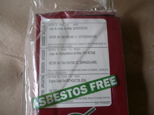 kit de empaques para el motor vw escarabajo brasilia y kombi
