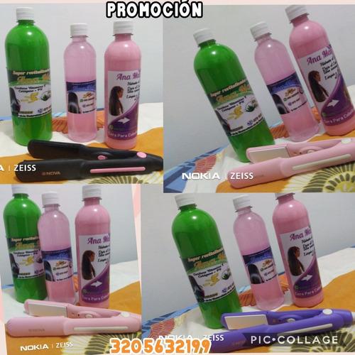 kit de encerado + cera para rizos + shamp - g a $35