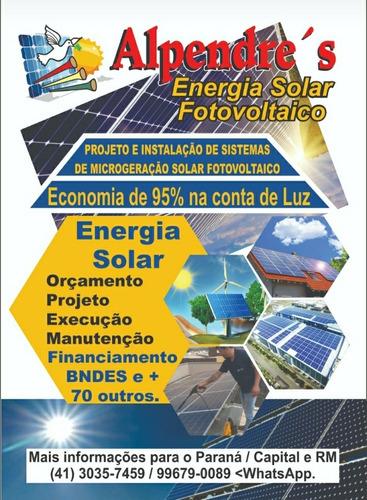 kit de energia solar fotovoltaico