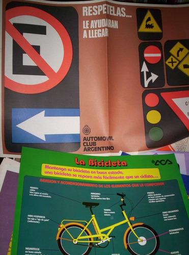 kit de enseñanza vial del automóvil club argentino
