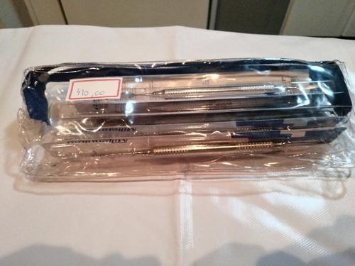 kit de espatula resina composta + kit de estética millenium