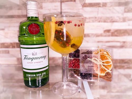 kit de especiarias para gin