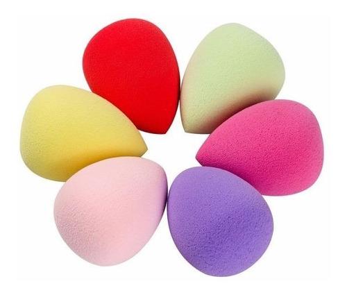 kit de esponjas mini gota 20 unidades cores sortidas