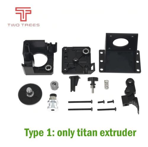 kit de extrusora titan con motor paso a paso nema17 para 3d