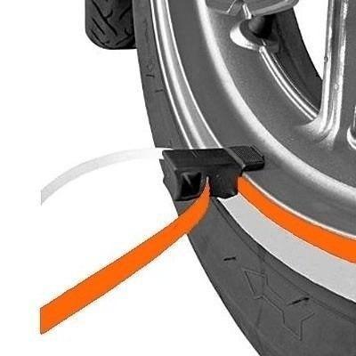 kit de faixas refletivas para rodas moto e carro 7mm c aplic