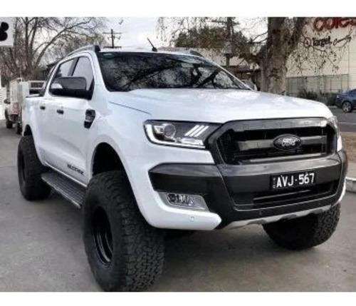 kit de faros y calaveras led ford ranger 2016-2019