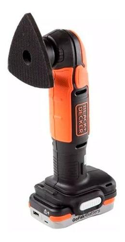 kit de ferramentas à bateria bdck502c1-b3 gopak blackedecker