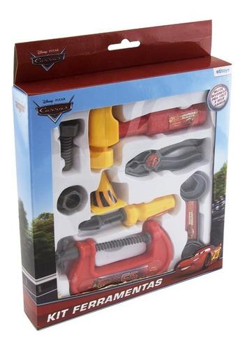 kit de ferramentas com 8 peças infantil criança meninos mcqu