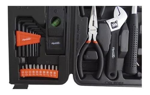 kit de ferramentas com maleta 129 peças + afiador de facas