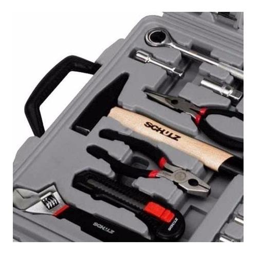 kit de ferramentas com maleta 160 peças - schulz