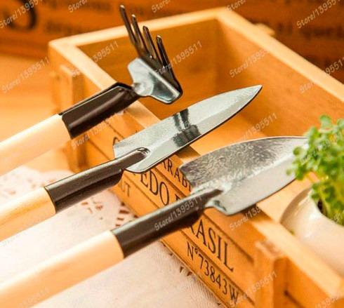 kit de ferramentas jardim