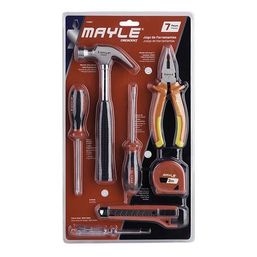 kit de ferramentas para montar moveis 07 peças oferta
