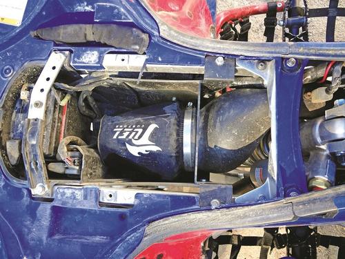 kit de filtro de aire kyn c/ caja filtrera 450r fuel customs