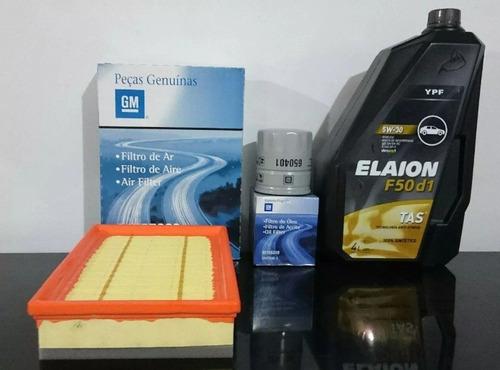 kit de filtros aceite+aire+elaion f50 d1 prisma 2016- onix