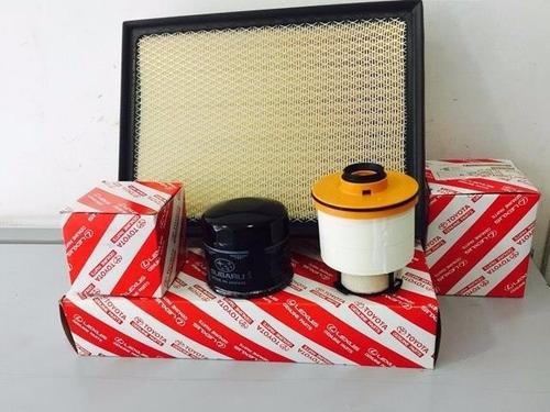 kit de filtros (aire combustible y aceite) toyota hilux 2016