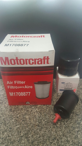 kit de filtros ford focus 2 - 3 original motorcraft 1.6 2.0