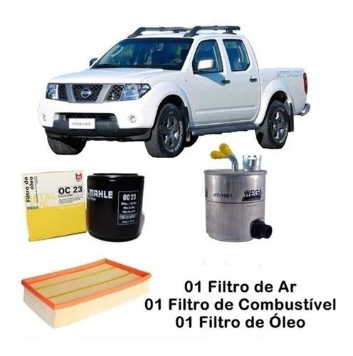 kit de filtros frontier 2.5 turbo diesel 2012 2013 2014 2015