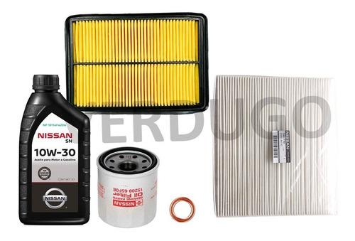 kit de filtros y aceite nissan qashqai j11 - original