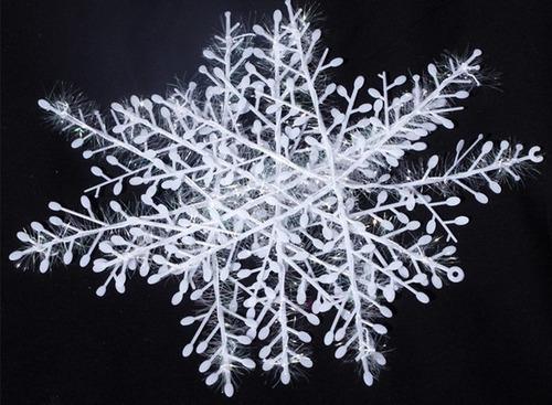 kit de flocos de neve 3d decoração festa frozen gelo 6cm