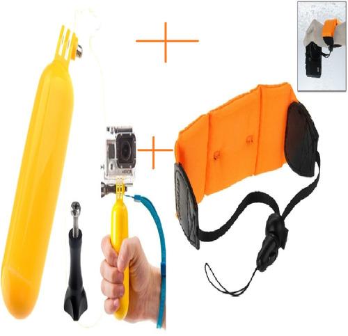 kit de flutuadores e flutuantes gopro hero acessórios go pro