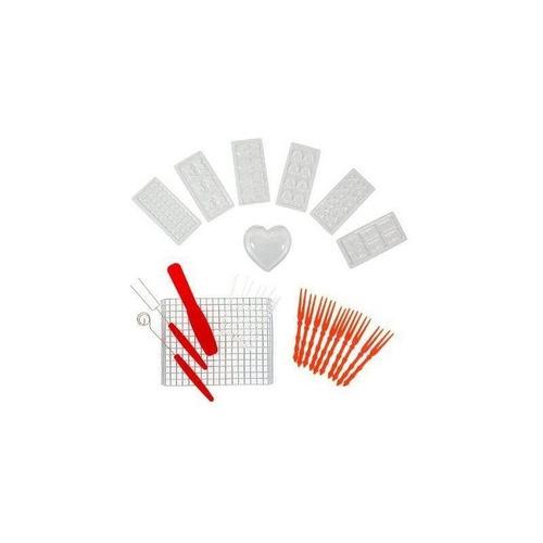 kit de fondue para chocolate deluxe con 30 accesorios nuevo