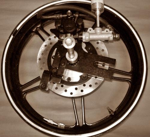 kit de freio traseiro cb300 cbx250 twister c/ disco completo