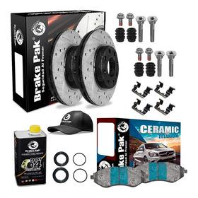 Kit De Freno De Disco (pro) Brakepak Chevrolet Spark Gt