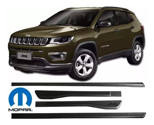 kit de friso lateral jeep compass  original 2018