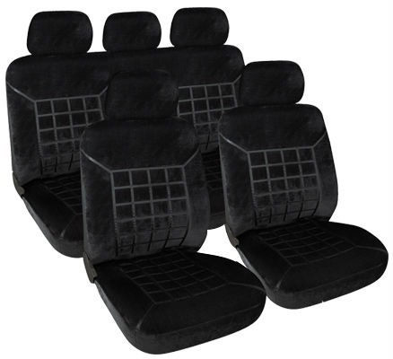 kit de funda pana original cubre asientos auto premium tela