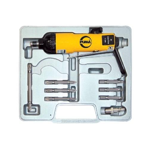 kit de furadeira de impacto pneumática 1/4 pol. puma at4060k