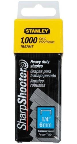 kit de grapas uso rudo 1/4 in con 1000 pzs tra704t stanley