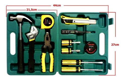 kit de herramientas 12 piezas multi uso mecanico hogar