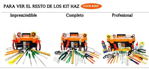 kit de herramientas 63 piezas con maletin oferta completo