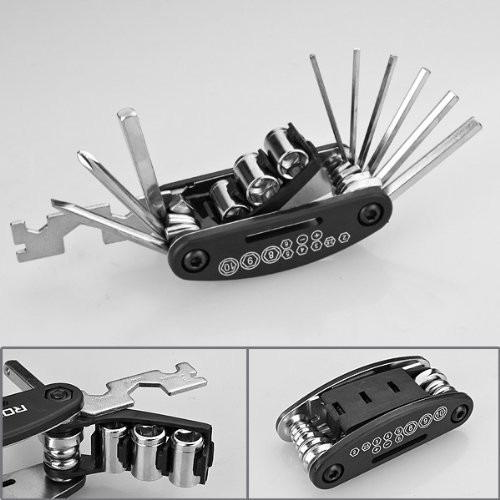 kit de herramientas bicicleta para cinturon