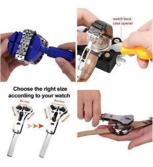 kit de herramientas de reparacion de relojes estuche abridor