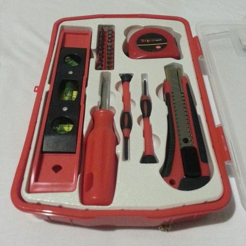 kit de herramientas del hogar brico tech nuevos!!!