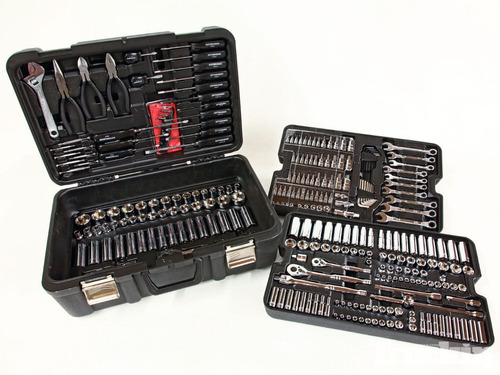 kit de herramientas mecanicas, 301 pzas. hft